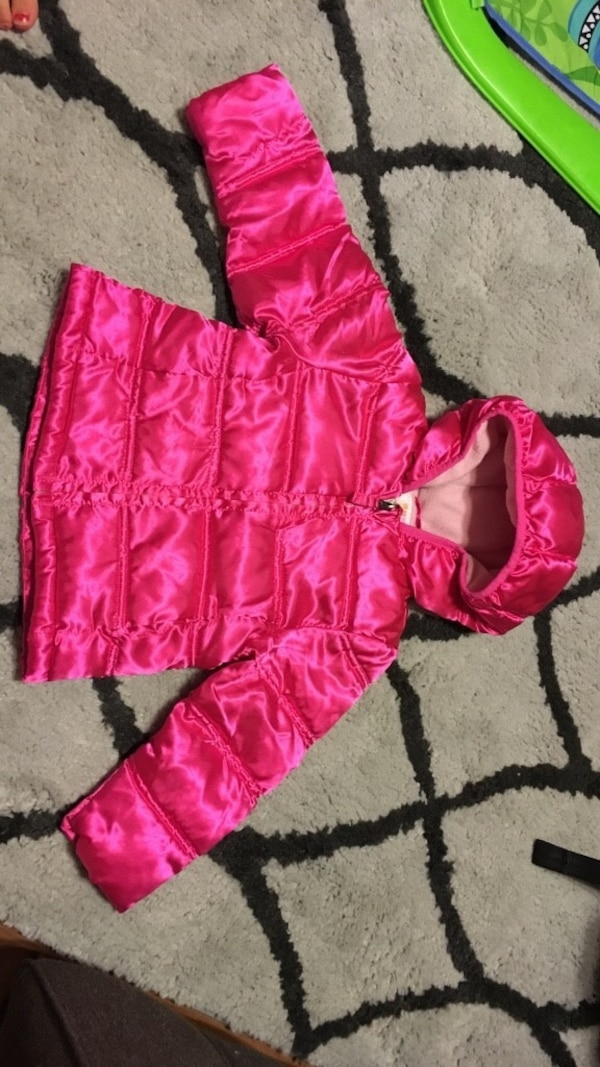 Size 2t coat and hat