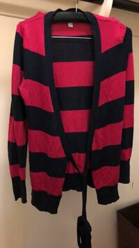old navy pink and navy blue cardigan Severn, 21144