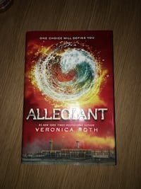 Allegiant by Veronica Roth Hardcover Niagara Falls, L2J 3T2