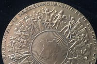 50 Years Liberation of France Table Medal Toronto, M4V 2C1