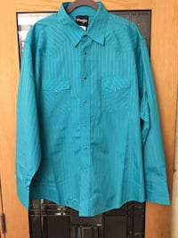Wranglers long sleeve mens shirt Olney