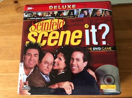 Deluxe Seinfeld scene it? Board game
