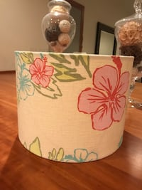 Pottery barn hibiscus beach lamp shade Dunn Loring, 22027