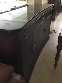 black and gray wooden cabinet Laguna Niguel, 92677