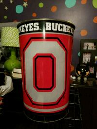 Ohio State metal trash can! Lexington, 40511
