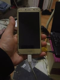 white Samsung Galaxy android smartphone Edmonton