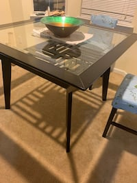Glass dinette table- moving...must go!
