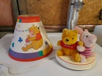 Original Vintage Winnie the Pooh Night Stand Lamp Mississauga, L5M 4Z9