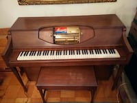 1966 Musette Piano Player with 50 rolls