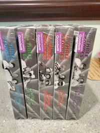 Three Stooges 5 VHS comedy tapes... Thurmont, 21788
