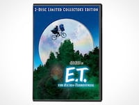 E.T. The Extra Terrestrial (DVD) 2-disc limited edition KITCHENER