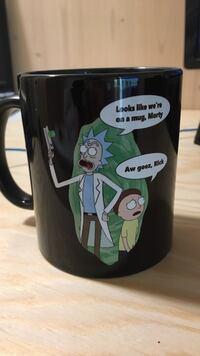 Rick And morty kopp Trondheim, 7050