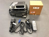 Digital Projector, hp SB21, with case, remote, cabling and spare bulb Huntington, 11743