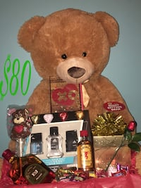 brown bear plush toy and fragrance kit Syracuse