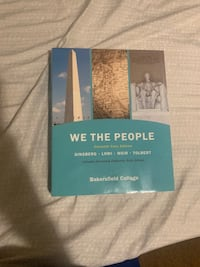 We the people 11th core edition political science Bakersfield college  Bakersfield, 93307