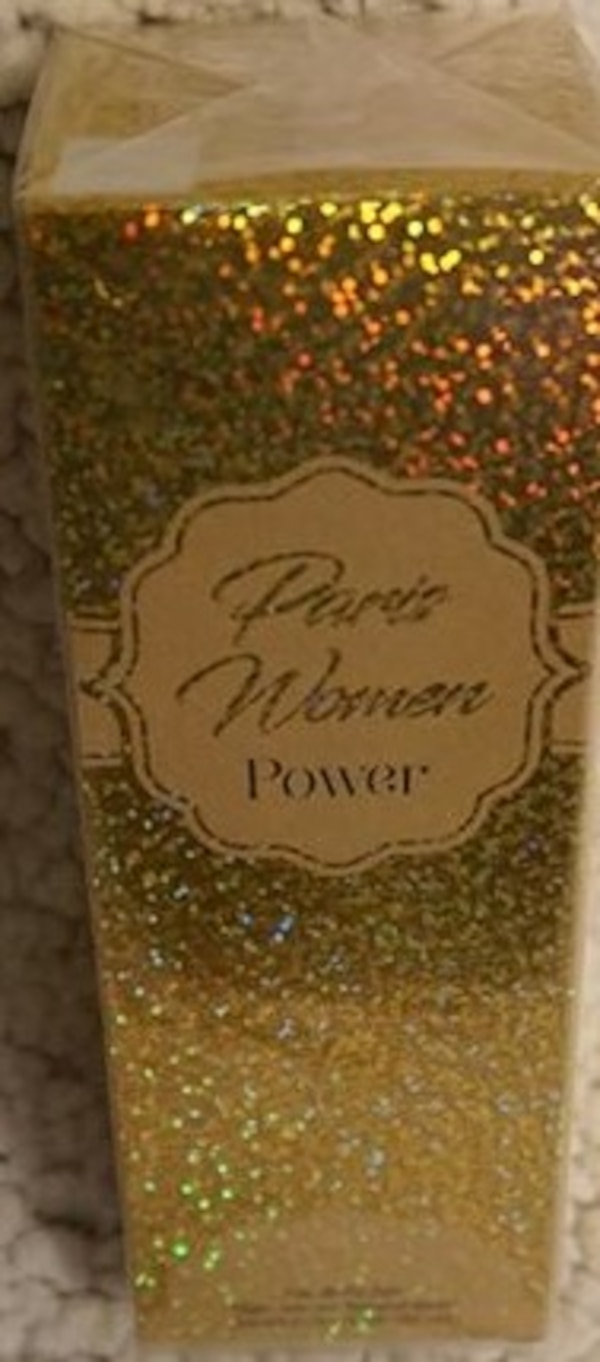 PARIS WOMEN POWER PERFUME NEW IN UNOPEN BOX. ITS 3.4 OZ. ASKING $10.00  1a22df95-8d84-4a2f-be30-7b7232abff0a