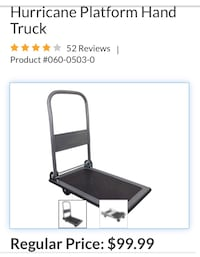 Dolly cart (brand new) Toronto, M5M 2S5