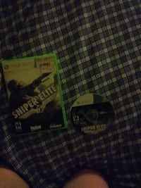 Sniper Elite Xbox 360 game disc and case