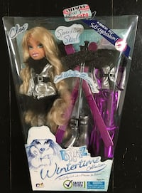 New Bratz Doll with winter accessories