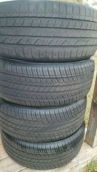 Set of tires 235 50 18