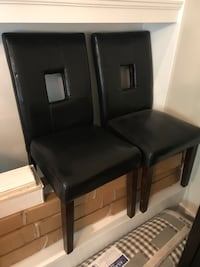Leather Dining Chairs both for $15 - Never used Loveland, 45140