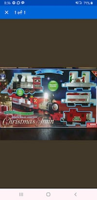 North Pole Junction Christmas Train Set Baltimore, 21209