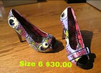 Size 6 Iron Fist Heels. London, N5Y 4V7