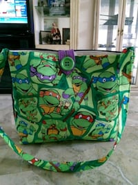 Handmade ninja turtle bag Franklin, 28734