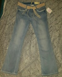 Girl Jeans with Belt
