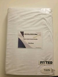 White fitted sheets (twin) San Jose, 95112