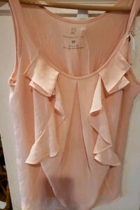 Women's sleeveless peach shirt South Riding, 20152
