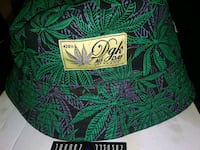 green and gold floral 420 hat New York, 10025