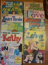 Romance comic books from 60's and 70's.   Owensboro, 42301
