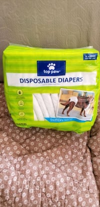 Doggie disposable diapers