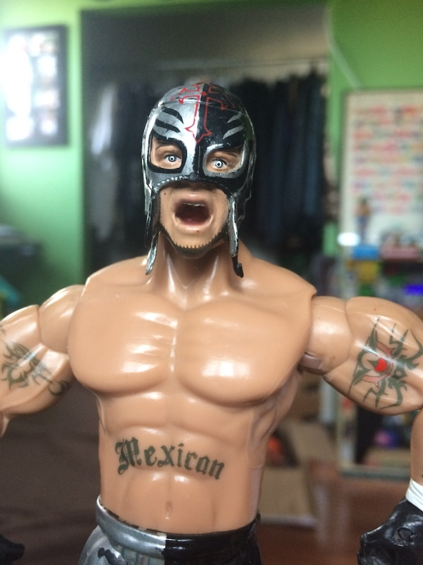 WWE Rey Mysterio action figure