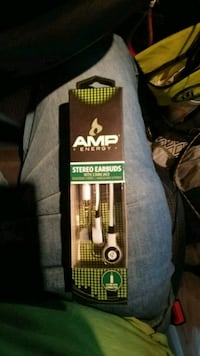 Amp energy earbuds...brand new!!! Louisville