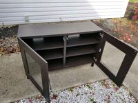 Ikea Besta TV stand, glass doors Deptford Township