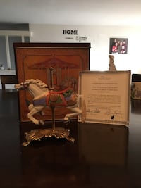 Reproduction of a carrousel horse