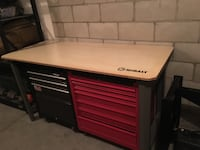 Work bench and 2 tool boxes San Diego, 92123
