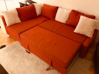 Sectional sofa cum bed with storage JERSEYCITY