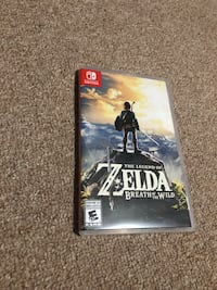The legend of zelda nintendo switch game case Toronto, M1G 3C6