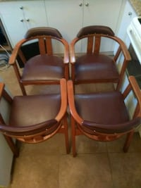 Set of 4 reataurant-style chairs Burnaby, V5G 1N6