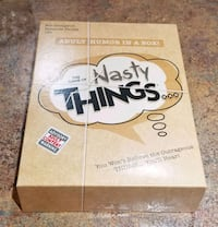 Game of Nasty Things Card Game-Party Fun! Adult
