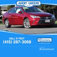 2017 Toyota Camry XLE Vallejo, 94591