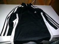 black and white Adidas zip-up jacket Grand Junction