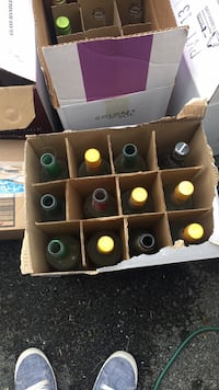 Wine bottles•great for crafting• Pick up only, no holds. 12 for $10.00  Thank you! Adamstown, 21710
