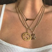 Gucci text nameplate necklace  Fairfax, 22033