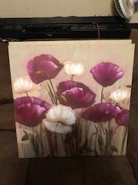 2 floral paintings (for both)