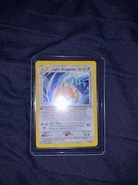 NEGOTIABLE POKÉMON CARD First edition light dragonite Providence, 02907