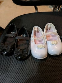 Toddler dress shoes (size 2, 4, 5)  Sterling, 20164